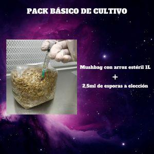 Pack básico de cultivo