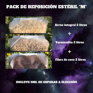 Pack de reposición M